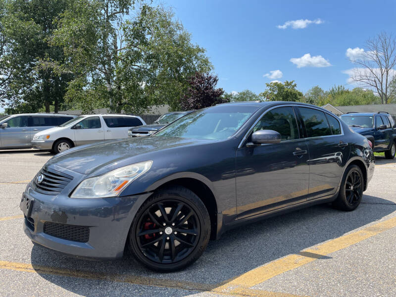2008 Infiniti G35 for sale at J's Auto Exchange in Derry NH