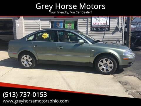2003 Volkswagen Passat for sale at Grey Horse Motors in Hamilton OH