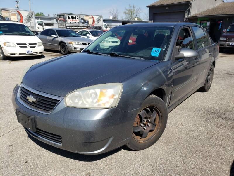 2006 Chevrolet Malibu for sale at New Start Motors LLC - Crawfordsville in Crawfordsville IN