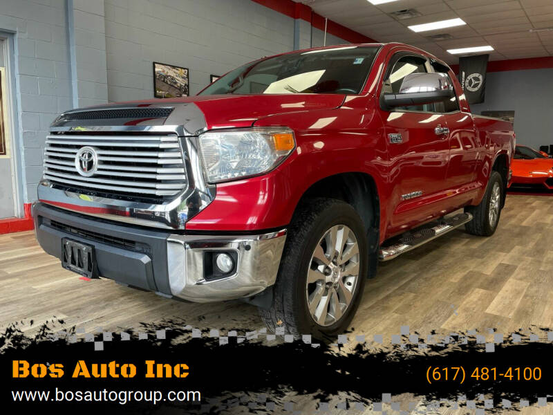 2014 Toyota Tundra for sale at Bos Auto Inc in Quincy MA