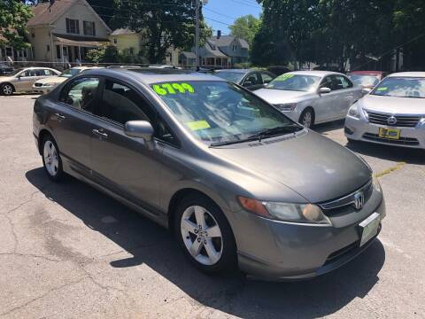 2007 Honda Civic for sale at Emory Street Auto Sales and Service in Attleboro MA