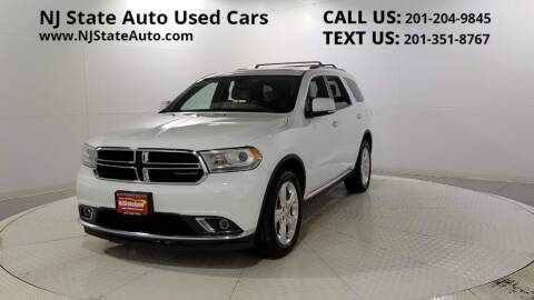 2015 Dodge Durango for sale at NJ State Auto Auction in Jersey City NJ