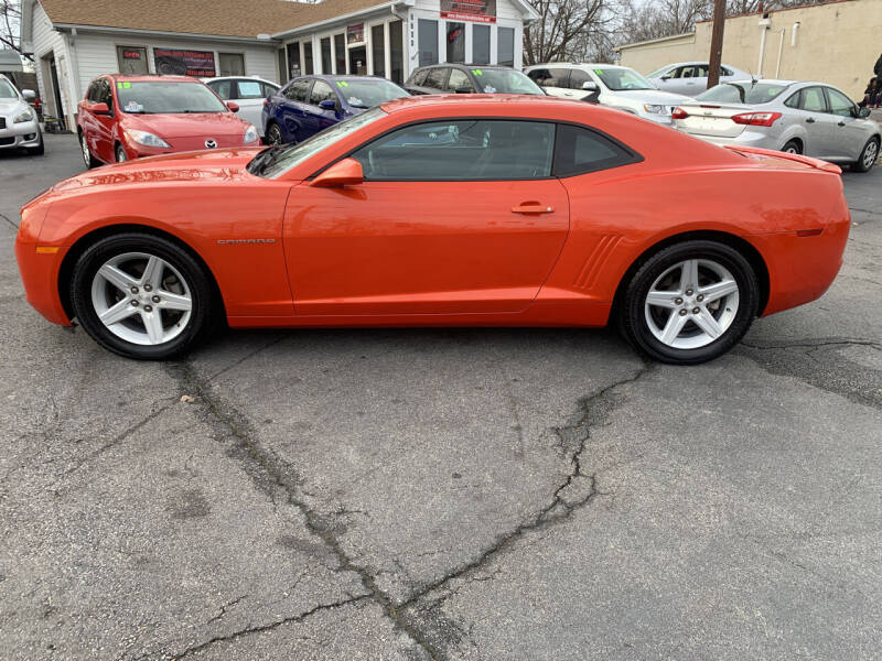 2012 Chevrolet Camaro for sale at Simple Auto Solutions LLC in Greensboro NC