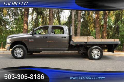 2015 RAM Ram Pickup 2500 for sale at LOT 99 LLC in Milwaukie OR