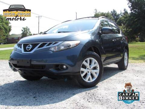 2014 Nissan Murano for sale at High-Thom Motors in Thomasville NC