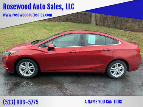 2017 Chevrolet Cruze for sale at Rosewood Auto Sales, LLC in Hamilton OH