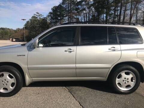2005 Toyota Highlander for sale at Hollingsworth Auto Sales in Wake Forest NC