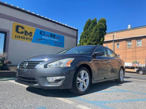 2013 Nissan Altima for sale at Car Mart Auto Center II, LLC in Allentown PA
