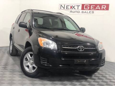 2010 Toyota RAV4 for sale at Next Gear Auto Sales in Westfield IN