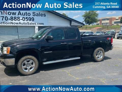 2012 GMC Sierra 1500 for sale at ACTION NOW AUTO SALES in Cumming GA