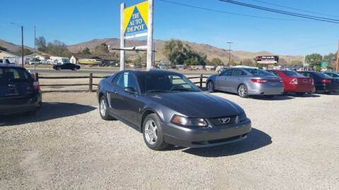 2003 Ford Mustang for sale at Auto Depot in Carson City NV