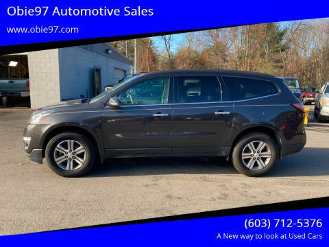 2015 Chevrolet Traverse for sale at Obie97 Automotive Sales in Londonderry NH