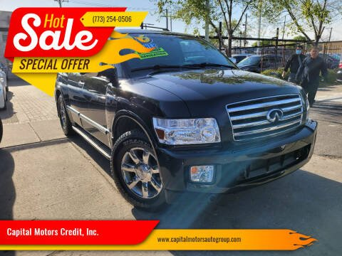 2006 Infiniti QX56 for sale at Capital Motors Credit, Inc. in Chicago IL