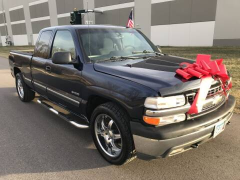 2002 Chevrolet Silverado 1500 for sale at Angies Auto Sales LLC in Newport MN
