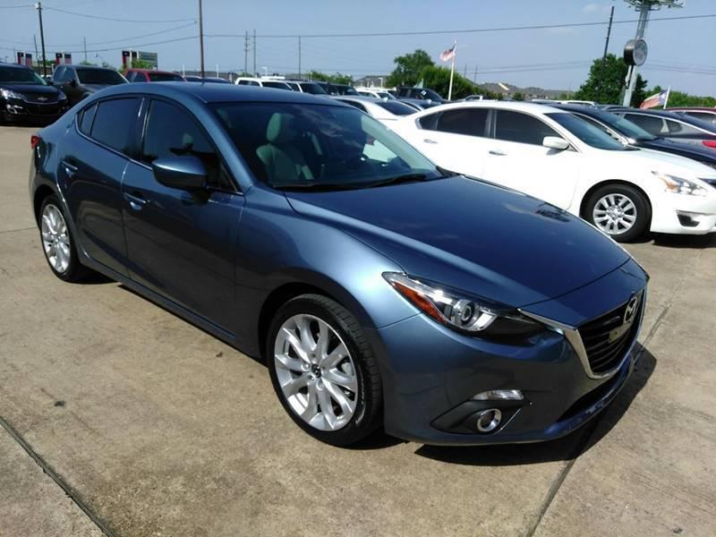 2016 Mazda MAZDA3 for sale at Discount Auto Company in Houston TX