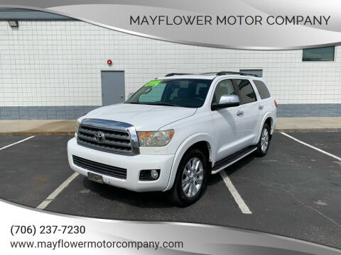 2008 Toyota Sequoia for sale at Mayflower Motor Company in Rome GA