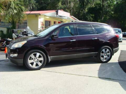 2009 Chevrolet Traverse for sale at VANS CARS AND TRUCKS in Brooksville FL