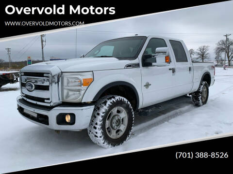 2012 Ford F-250 Super Duty for sale at Overvold Motors in Detriot Lakes MN