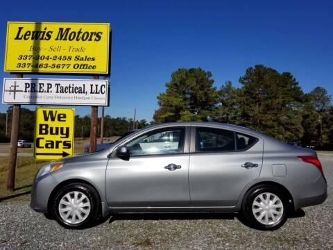 2012 Nissan Versa for sale at Lewis Motors LLC in Deridder LA