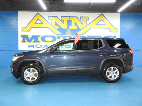2018 GMC Acadia for sale at ANNA MOTORS, INC. in Detroit MI