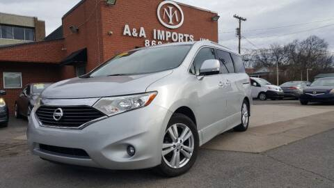 2012 Nissan Quest for sale at A & A IMPORTS OF TN in Madison TN