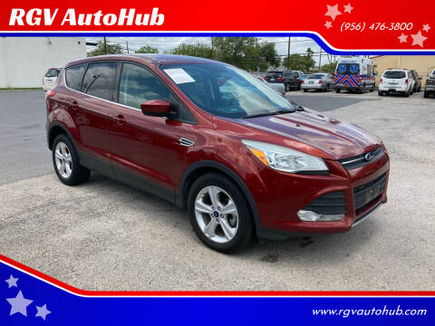 2015 Ford Escape for sale at RGV AutoHub in Harlingen TX