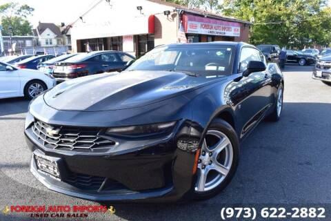 2019 Chevrolet Camaro for sale at www.onlycarsnj.net in Irvington NJ