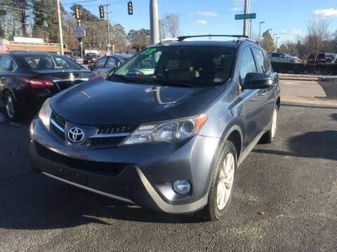 2013 Toyota RAV4 for sale at Dad's Auto Sales in Newport News VA