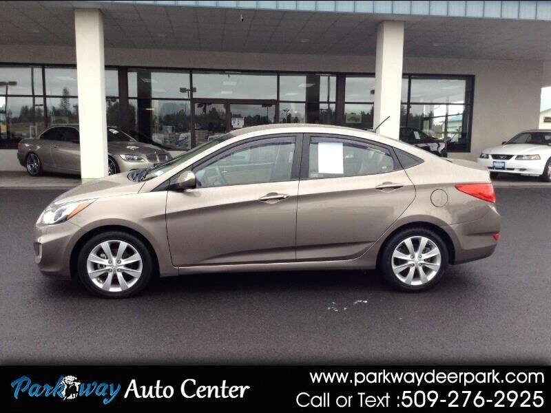 2012 Hyundai Accent for sale at PARKWAY AUTO CENTER AND RV in Deer Park WA
