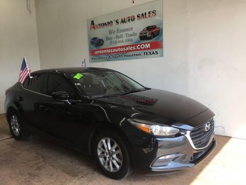 2017 Mazda MAZDA3 for sale at Antonio's Auto Sales - Antonio`s  2206 in Pasadena TX
