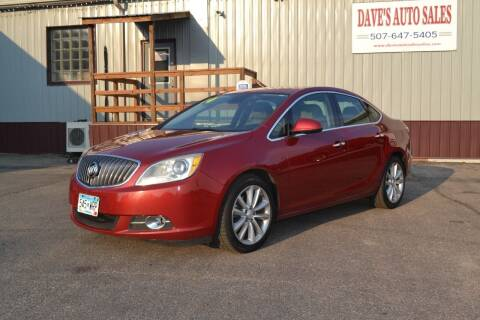 2014 Buick Verano for sale at Dave's Auto Sales in Winthrop MN