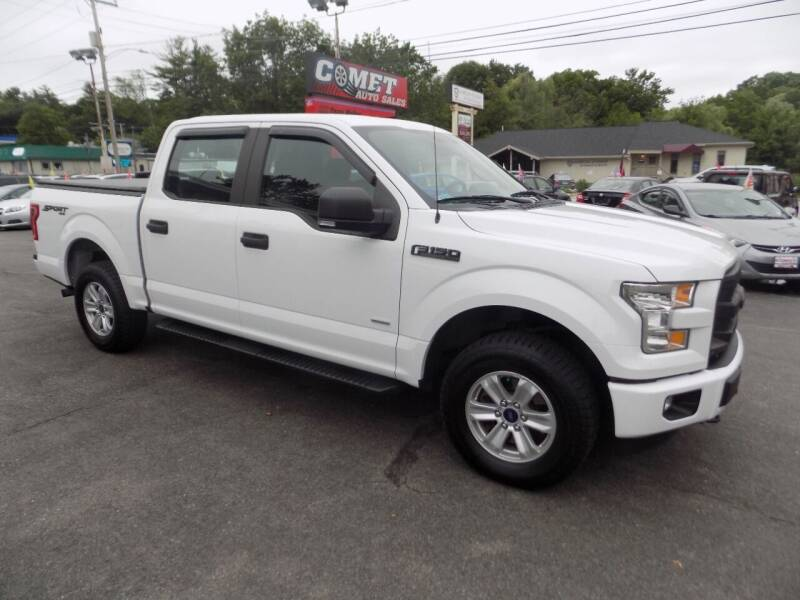 2016 Ford F-150 for sale at Comet Auto Sales in Manchester NH