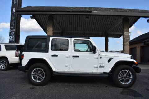 2020 Jeep Wrangler Unlimited for sale at Atlas Auto in Grand Forks ND