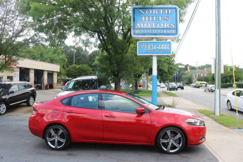 2016 Dodge Dart for sale at North Hills Motors in Raleigh NC
