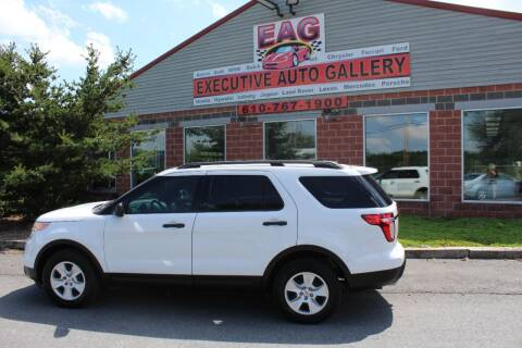 2013 Ford Explorer for sale at EXECUTIVE AUTO GALLERY INC in Walnutport PA