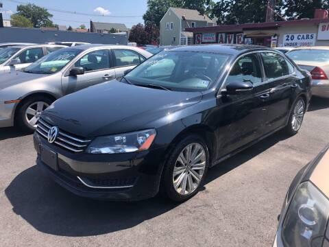 2012 Volkswagen Passat for sale at BIG C MOTORS in Linden NJ