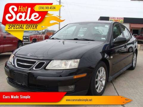 2003 Saab 9-3 for sale at Cars Made Simple in Union MO