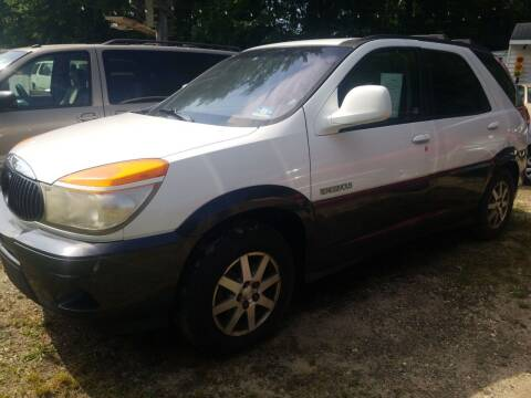 2002 Buick Rendezvous for sale at Ray's Auto Sales in Elmer NJ