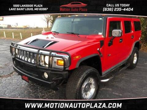2004 HUMMER H2 for sale at Motion Auto Plaza in Lakeside MO