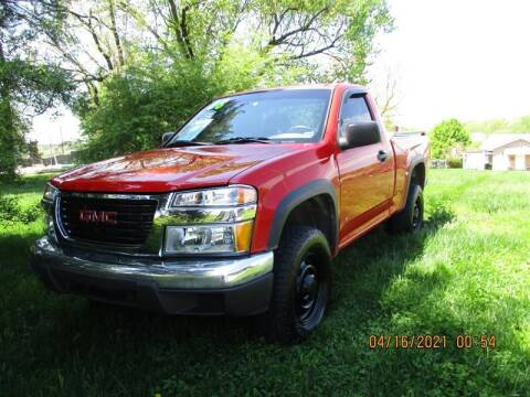 2008 GMC Canyon for sale at Euro Asian Cars in Knoxville TN