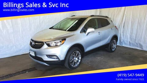 2017 Buick Encore for sale at Billings Sales & Svc Inc in Clyde OH