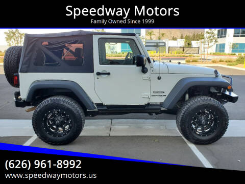 2010 Jeep Wrangler for sale at Speedway Motors in Glendora CA