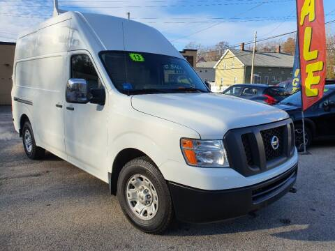 2013 Nissan NV Cargo for sale at Porcelli Auto Sales in West Warwick RI