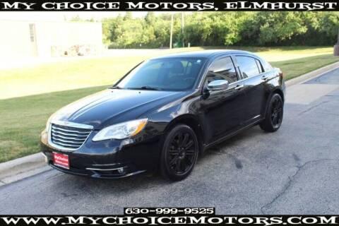 2013 Chrysler 200 for sale at My Choice Motors Elmhurst in Elmhurst IL