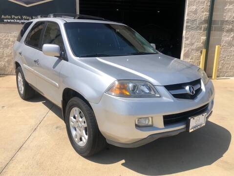 2006 Acura MDX for sale at KAYALAR MOTORS - ECUFAST HOUSTON in Houston TX