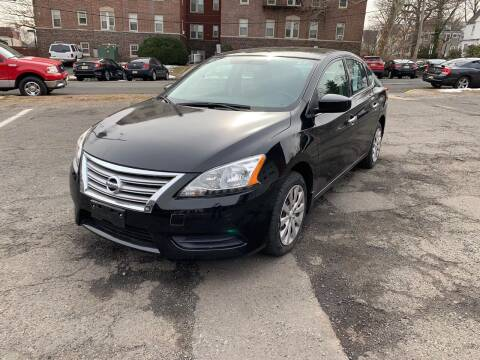 2015 Nissan Sentra for sale at Pinnacle Automotive Group in Roselle NJ