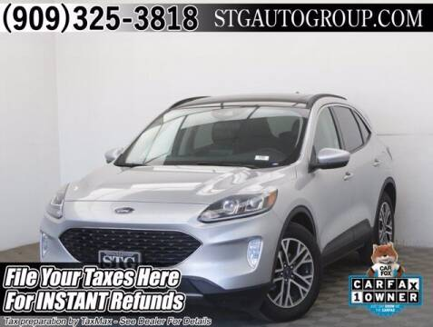 2020 Ford Escape for sale at STG Auto Group in Montclair CA