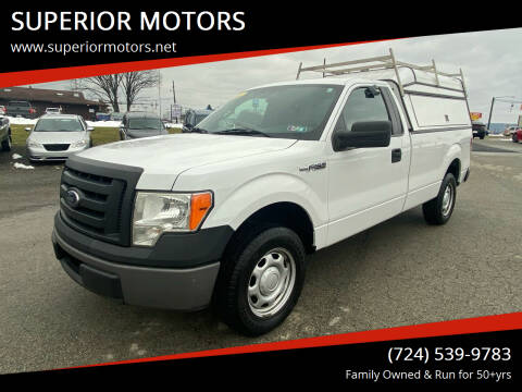 2011 Ford F-150 for sale at SUPERIOR MOTORS in Latrobe PA