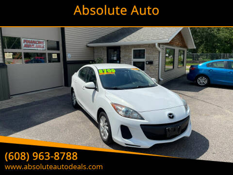 2013 Mazda MAZDA3 for sale at Absolute Auto in Baraboo WI