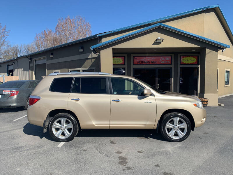2008 Toyota Highlander for sale at Advantage Auto Sales in Garden City ID